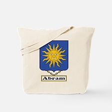 Abram Family Crest Tote Bag