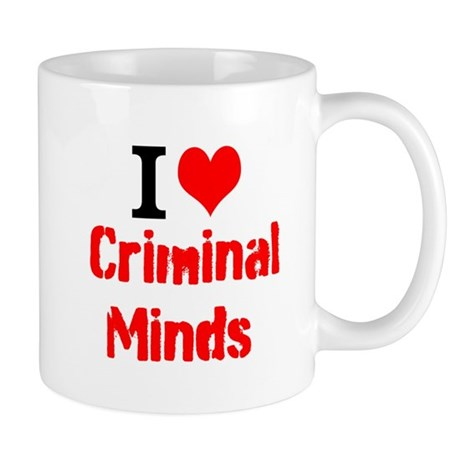 I Love Criminal Minds Mugs