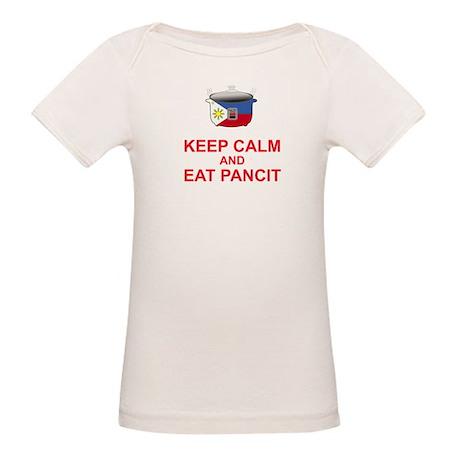 Keep Calm and Eat Pancit Organic Baby T-Shirt