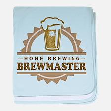 Brewmaster Home Beer Brewer baby blanket