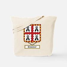 Bowser Family Crest Tote Bag
