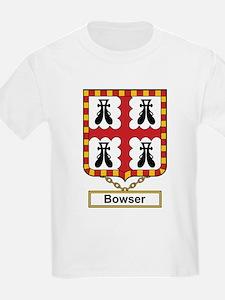 Bowser Family Crest T-Shirt