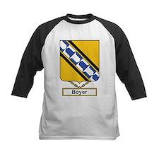 Boyer Family Crest Baseball Jersey
