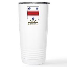 Braxton Family Crest Travel Mug