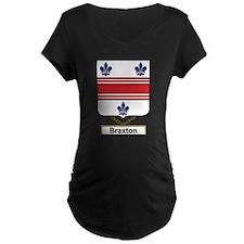 Braxton Family Crest Maternity T-Shirt