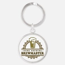 Brewmaster Home Beer Brewer Keychains