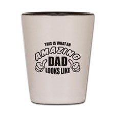 AMAZING DAD_BK Shot Glass
