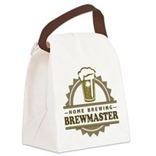 Brewmaster Home Beer Brewer Canvas Lunch Bag