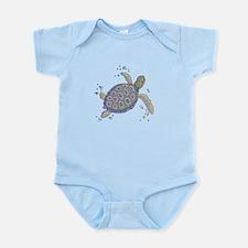 Swimming Sea Turtle Body Suit