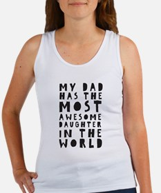AWESOME DAUGHTER Tank Top