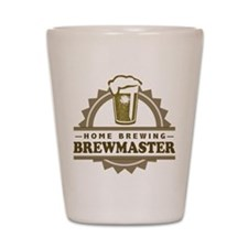 Brewmaster Home Beer Brewer Shot Glass