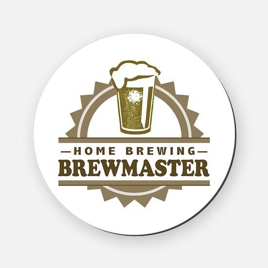 Brewmaster Home Beer Brewer Cork Coaster