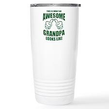 AWESOME GRANDPA Travel Mug