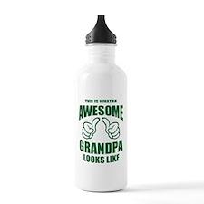 AWESOME GRANDPA Water Bottle