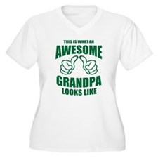 AWESOME GRANDPA Plus Size T-Shirt