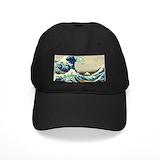 The great wave off kanagawa Black Hat