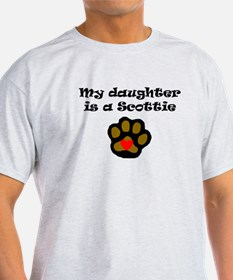 My Daughter Is A Scottie T-Shirt