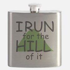 Funny Hill Running Flask