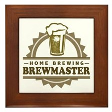 Brewmaster Home Beer Brewer Framed Tile