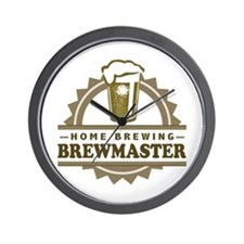 Brewmaster Home Beer Brewer Wall Clock