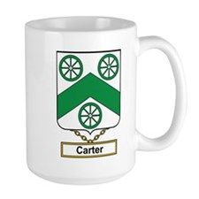 Carter Family Crest Mugs