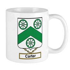 Carter Family Crest Mugs