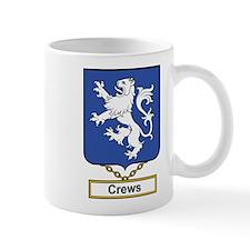 Crews Family Crest Mugs