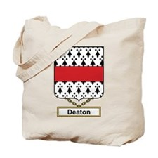 Deaton Family Crest Tote Bag