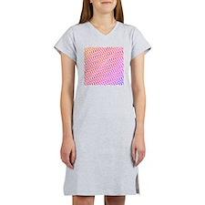 Candy Colors Chevron Women's Nightshirt