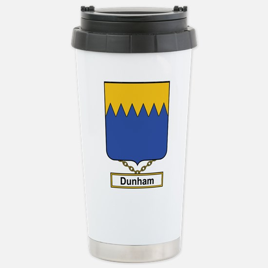 Dunham Family Crest Travel Mug