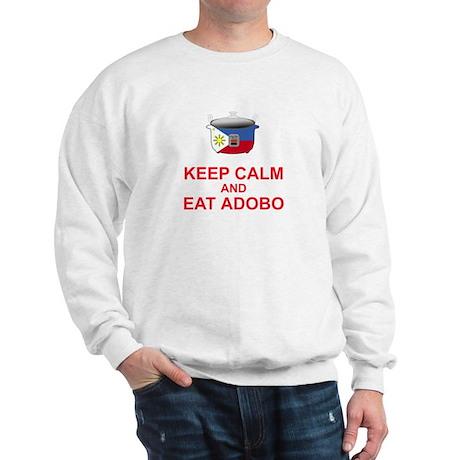 Keep Calm and Eat Adobo Sweatshirt
