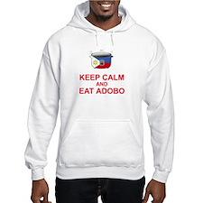Keep Calm and Eat Adobo Hoodie