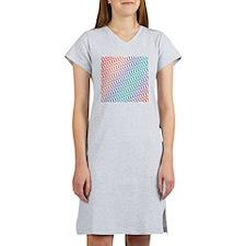 Candy Colored Chevron Women's Nightshirt