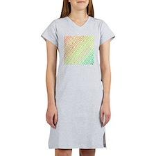 Light Candy Chevron Women's Nightshirt