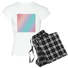Candy Chevron Pajamas