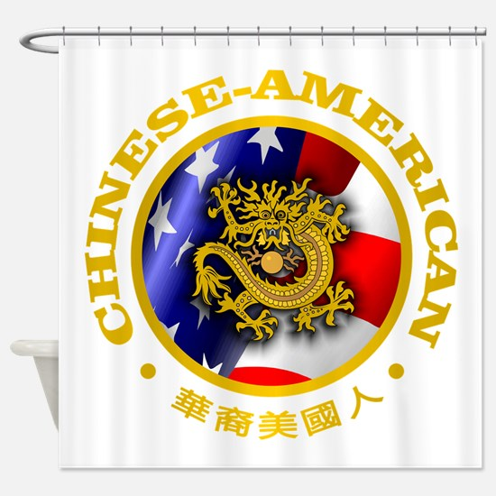 Chinese-American Shower Curtain