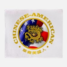 Chinese-American Throw Blanket