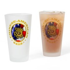 Chinese-American Drinking Glass