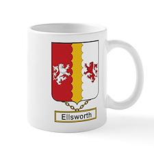 Ellsworth Family Crest Mugs