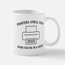 Printers Smell Fear Mug