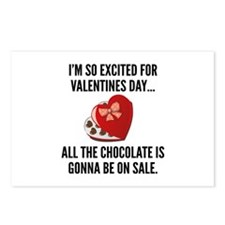 I'm So Excited For Valentine's Day... Postcards (P