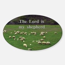 The Lord is My Shepherd - Design 4 Decal