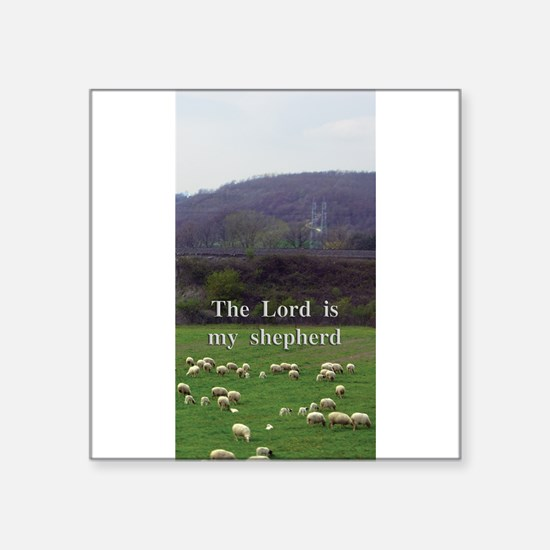 The Lord is My Shepherd - Design 4 Sticker