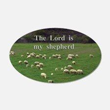 The Lord is My Shepherd - Design 4 Wall Decal