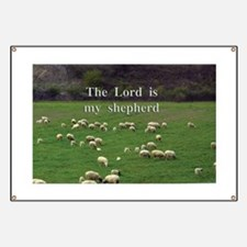 The Lord is My Shepherd - Design 4 Banner