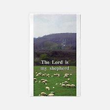 The Lord is My Shepherd - Design 4 3'x5' Area Rug