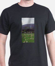 The Lord is My Shepherd - Design 4 T-Shirt