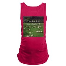 The Lord is My Shepherd - Design 4 Maternity Tank