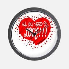 All You Need Is Love-The Beatles Wall Clock