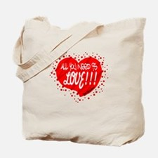 All You Need Is Love-The Beatles Tote Bag